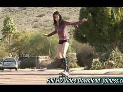 Aiden This Sporty Girl Is Popular On Playboy S Version Of Jackass Doing All Kinds Of Sporty Stunts