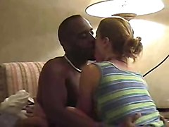 Interracial creampie ,clean up and sloppy second