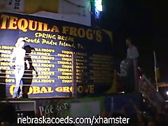 Tequila Frogs Wet T-Shirt Contest