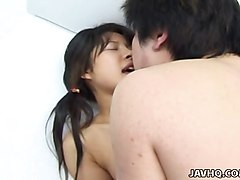Japanese teen Haruka Aida fucked uncensored japanese video