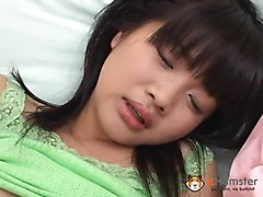Japanese teen model girl's maturbation