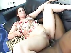 Pale Girl BBC Anal