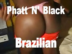 phatt 40 inch Brazilian ASS gettin fucked in RIO