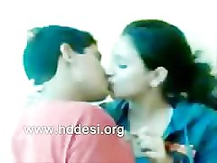 Indian Bangla College Girl and Boy Kissing