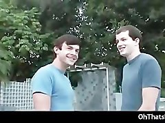 Outdoor gay fucking and sucking gay part1