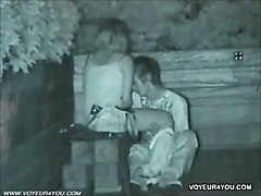 Nightvision Spycam Outdoor Sex Witness