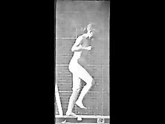 Vintage Naked Girls(1884-1887) 1st naked moving pictures