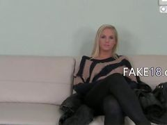 Smart Princess Having Sex On Sofa