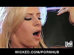 SEXY BUSTY LESBIAN TATTOO BABES LICK AND FINGER FUCK PUSSY ORGASM
