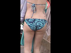 candid fat jiggly beach booty spy 45,, wow