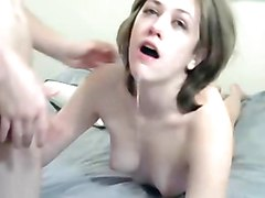cock sucking, ass licking girl with her guy.