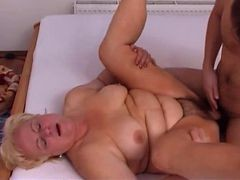 Plump Granny Fucks The Boy