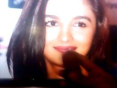 cum tribute to alia bhatt #2 she moans for you
