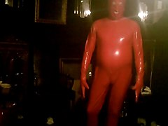 red devil fuck his rubber guy