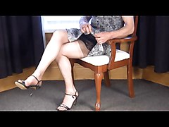 soft sheer nylon slips and nylon stockings