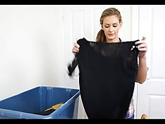 down blouse laundry