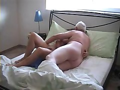 grandparents in doggy style  home video