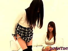 tiny young japanese babes fingered and fucked