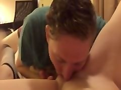 gf pussy gets licked and fingered hard until she cums