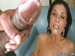 India Summers Gets A Huge Black Cock In Her Mouth And Pussy