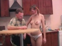 Daddy Fucks His Sons Girlfriend