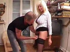 Young French Men Gang Up On A Mature Mom And Fuck Her Hard