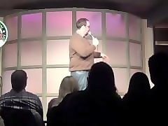 fat nerd sucks cock (at stand up comedy)