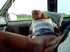 fisting in a moving car