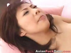 Asian Hairy Teen Creampie