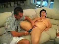 Plump Mature Mom Watching Porn Fucked By Younger...f70