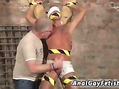 porn movies of hairy gays in india he's corded up to the cross in just