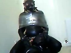 rubber session with rochdale tony the finale with me in the chair.