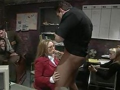 Kiki Daire Needs Some Fun At The Office! F70