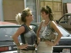 Erica Boyer, Sharon Mitchell And Blondi Classic Lesbos