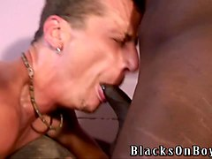 white guy sucking his first black cocks ever
