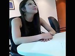 cum in some office bogota