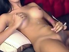 big cumshots by cute shemales - compilation