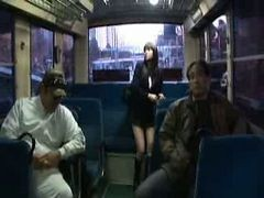 Japanese Girl Gangbang In The Inside Of A Bus