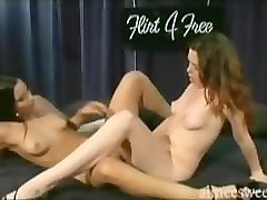 aimee sweet and adriana sage lesbians with double dildo