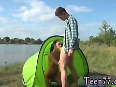 ebony teen lesbian ass licking eveline getting plumbed on camping site
