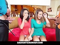 daughter swap- daughters learn sex from dad's best friend