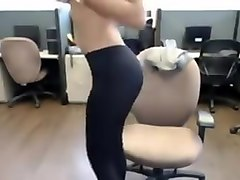 indian desi hot girl strip in office nri striptease