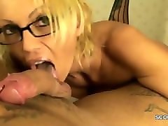 german milf anal fuck and creampie and pov after party