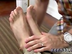 gay foot up butt and young boy sweet feet chase lachance tied up, gagged
