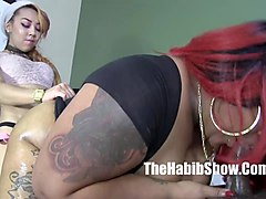 bbc henesey lil asian kimberly chi and bbw ms gigles gangban