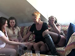 mature moms fuck young boy at private party