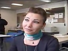french stewardess is a filthy slut!