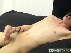grabbing his cock and going real wild with it