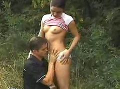 Sex in the garden (hardcore teen youngteeny 18 )