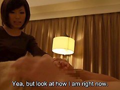 subtitles japanese massage handjob and sex in hd
